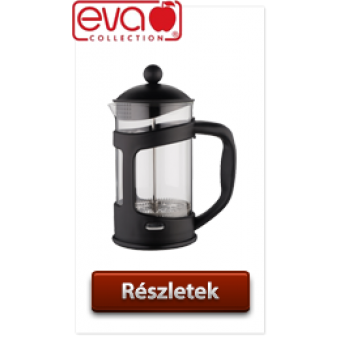 EVA French press - fekete (2)