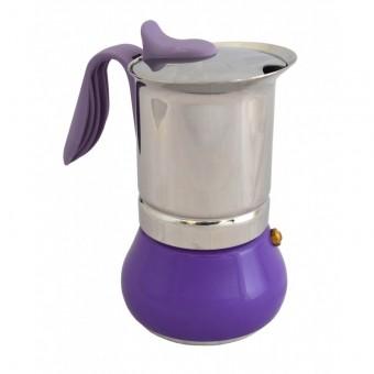 G.A.T. - Winner - kotyogós kávéfőző - 6 csészés - lila