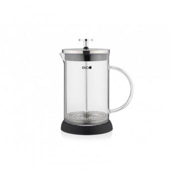 EVA - French press - Dugattyús kávé/teafőző - 350 ml - boroszilikát üveg
