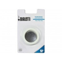 BIALETTI - Gumi tömítés és szűrő - 4  adagos BIALETTI inox kávéfőzőkhöz - Venus - Musa - Kitty