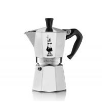 BIALETTI - Moka Express - hagyományos kávéfőző - 6 adagos - ezüst