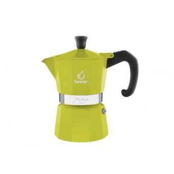 FOREVER - Miss Moka Prestige - La Verde - hagyományos kávéfőző - 3 csészés - zöld