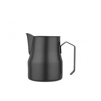 FOREVER - Latte art black tejkiöntő - 350 ml - inox -matt fekete