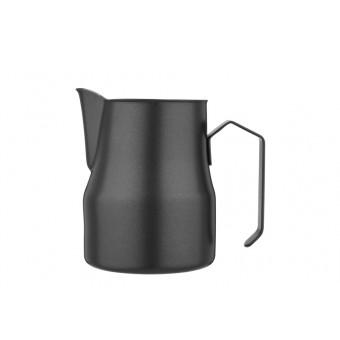 FOREVER - Latte art black tejkiöntő - 550 ml - inox -matt fekete