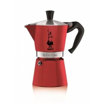 BIALETTI - Moka Express Colour- hagyományos kávéfőző - 6 adagos - piros