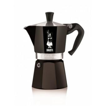 BIALETTI - Moka Express Colour- hagyományos kávéfőző - 3 adagos - fekete - SZÉPSÉGHIBÁS