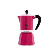 BIALETTI - Rainbow - hagyományos kávéfőző - 3 adagos - fukszia