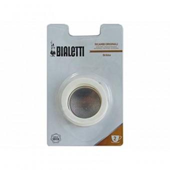 BIALETTI - Szilikon tömítés és szűrő - 2 adagos BIALETTI BRIKKA kávéfőzőkhöz