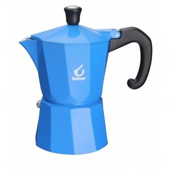 FOREVER - Miss Moka Super Colori - kávéőző - 3 csészés - kék