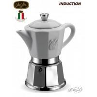 G.A.T. - Chic - kotyogós kávéfőző - 4 csészés - porcelán