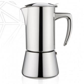 FOREVER - Miss Diamond - kávéfőző - 10 csészés- inox