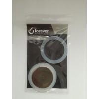 FOREVER - Szilikon tömítés és szűrő - 4 csészés FOREVER MISS DIAMOND INOX kávéfőzőkhöz