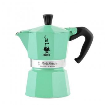 BIALETTI - Moka Express Ice Collection - hagyományos kávéfőző - 3 adagos - pasztell mentazöld - limited edition