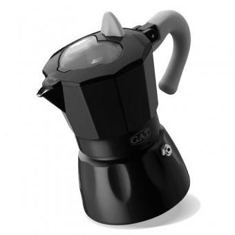 G.A.T. - Rossana Dark - kotyogós kávéfőző - 6 csészés
