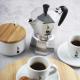 BIALETTI - Moka Express - olasz hagyományos kávéfőző - 4 adagos - ezüst