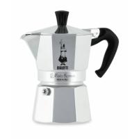 BIALETTI - Moka Express - hagyományos kávéfőző - 4 adagos - ezüst