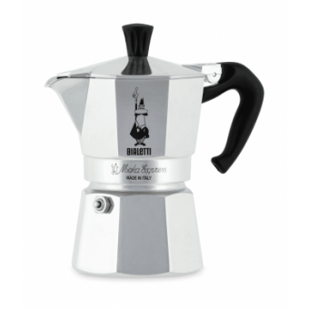 BIALETTI - Moka Express - hagyományos kávéfőző - 1 adagos - ezüst