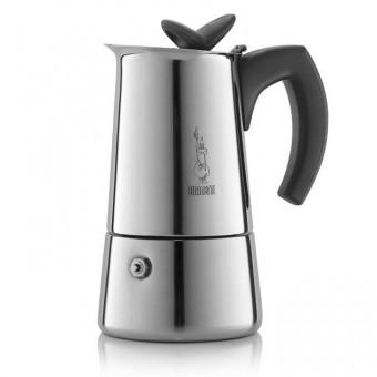 BIALETTI - Musa - hagyományos kávéfőző - 2 csészés - inox
