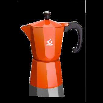 FOREVER - Miss Moka Super Colori - kávéfőző - 6 csészés - narancssárga