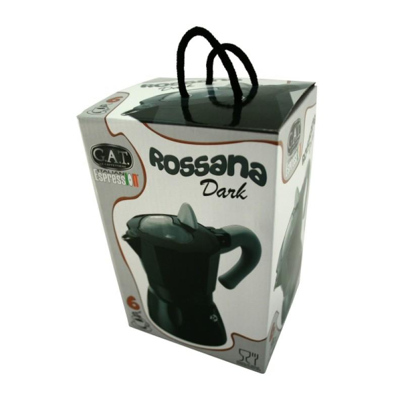 G.A.T. Rossana Dark kotyogós kávéfőző 2 csészés