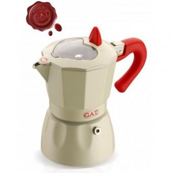 G.A.T. - Rossella/Rossana light - kotyogós kávéfőző - 6 csészés