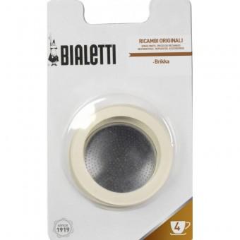 BIALETTI - Szilikon tömítés és szűrő - 4 adagos BIALETTI BRIKKA kávéfőzőkhöz