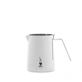 BIALETTI - tejkiöntő - rozsdamentes - 0,3l - ezüst