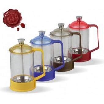 G.A.T. - Fantasia dugattyús kávé/teafőző - 0,3 literes - piros