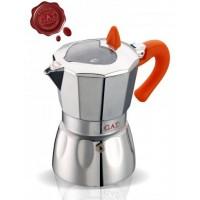G.A.T. - Valentina - kotyogós kávéfőző - 9 csészés - narancssárga