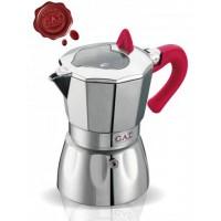 G.A.T. - Valentina - kotyogós kávéfőző - 9 csészés - rózsaszín