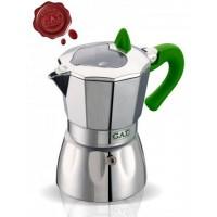 G.A.T. - Valentina - kotyogós kávéfőző - 1 csészés - zöld