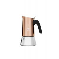 BIALETTI - Venus - hagyományos kávéfőző - 4 adagos - inox - vörösréz